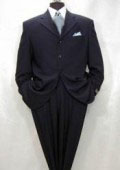 SKU NSS743 Navy Blue Super 150s Wool 4 Buttons wool Made in Italy 199