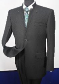 100% Wool Suit- Button
