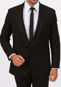 Button Shawl collar Slim