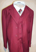 Burgundy Vested Tone on