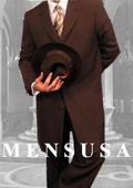Mens Darkest CoCo Brown Fashion Long Zoot Suit $159