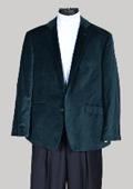 Velvet Sport Coat- Green