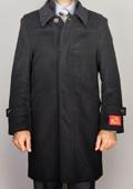 Black Wool/ Cashmere Blend