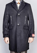 Wool/ Cashmere Topcoat with