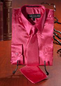 Hot Pink Satin Dress