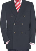 SKU#CGR886 High Quality Charcoal Gray Double Breasted Blazer With Peak Lapels $199