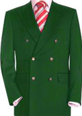 Mens double breasted sport coat