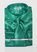 Shiny Luxurious Shirt Green