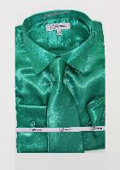 Shiny Luxurious Shirt Green
