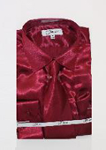 Shiny Luxurious Shirt Burgundy
