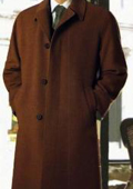 Brown Topcoats