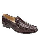 Villa Crocodile Loafers Brown