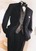 Brand new latest notch collar tux style Super 120's Wool premier quality italian fabric Jacket + Pants $139