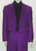Tail Peak Lapel Purple