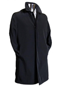 Black 3/4 Raincoat Trench
