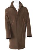Brown 3/4 Raincoat Trench