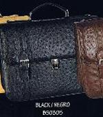 Quill Ostrich Briefcase in