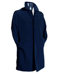 Navy 3/4 Raincoat Trench