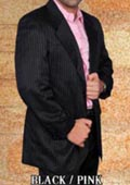 Western Suit Black/Pink $239