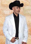 Western Suit White/Black $239