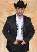 Western Suit Black/White $239