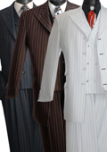 Stripe Three Piece Suit
