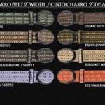 Western belts for men