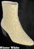 Ostrich Dressy Boots in