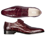 ITALY Alligator Lace-Up Shoe