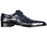 FENNIX ITALY Alligator Lace-Up