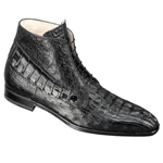 ITALY Black Genuine Hornback