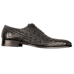 ITALY Black Genuine Crocodile