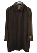 Mens 3/4 Length Cashmere Coat Black, Brown, Charcoal $199
