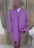 Long Lavender Fashion Zoot