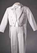 White Tuxedo with Tailcoat