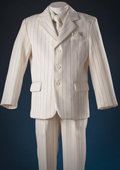 Ivory patterned 5 Piece Kids-Toddler-Boy Suits $99