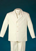 Kids-Toddler-Boy Suits - Summer Collection 3 Button Ivory $99