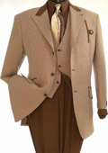 St Angelo Mens Brown