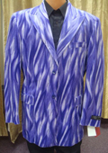 SKU#ZZ11 Men's Flame Jacket/Blazer In Purple $189
