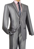 Fit Gray Framed Lapel
