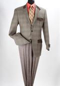 100% Wool Purple Green