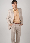 Linen Suit for Beach