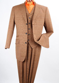 3 Piece 100% Wool