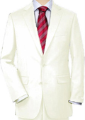 Off-White Quality Total Comfort Suit Separate Any Size Jacket & Any Size Pants $189