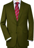 Olive Green Quality Total Comfort Suit Separate Any Size Jacket & Any Size Pants $189