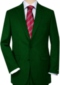 Dark Green Quality Total Comfort Suit Separate Any Size Jacket & Any Size Pants $189