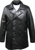 Classic Pea-Coat Black $475