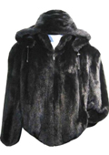 Mens Faux Fur Coat