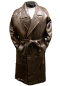 Traditional Double-Breasted Long Coat