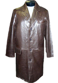 Classic 7/8-Length Topcoat Brown